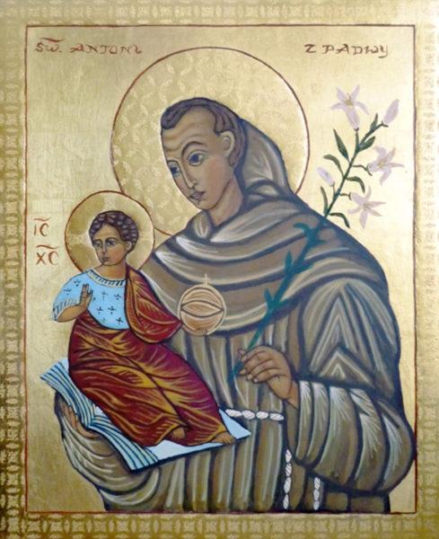 A-16 św. Antoni z Dzieciątkiem