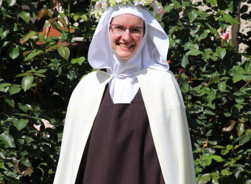 Nowa Siostra w naszym Karmelu